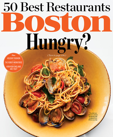 Boston Magazine - The 50 Best Restaurants 2014
