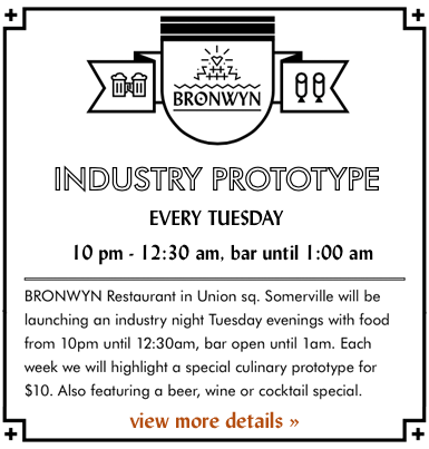 Bronwyn's Industry Prototype Night