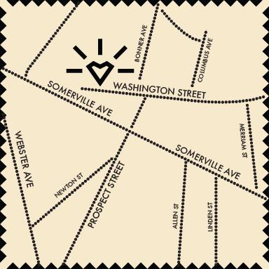 Bronwyn's Location