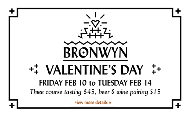 Bronwyn's Tuesday Night Beer Dinner