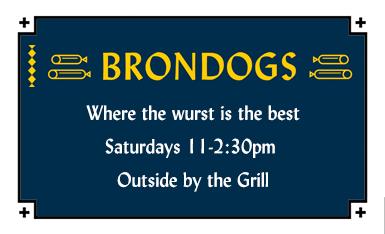 Bronwyn's Saturdays with Brondogs