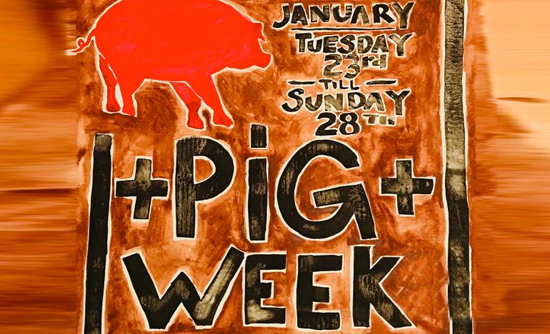 BRONWYN'S Pig Week 2018